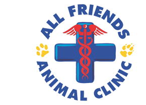 Logo for All Friends Animal Clinic Weston, Florida