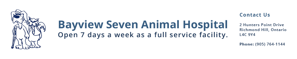 Logo for Veterinarians in Richmond Hill | Bayview Seven Animal Hospital