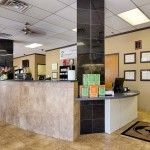 veterinary clinic reception area - Dallas TX